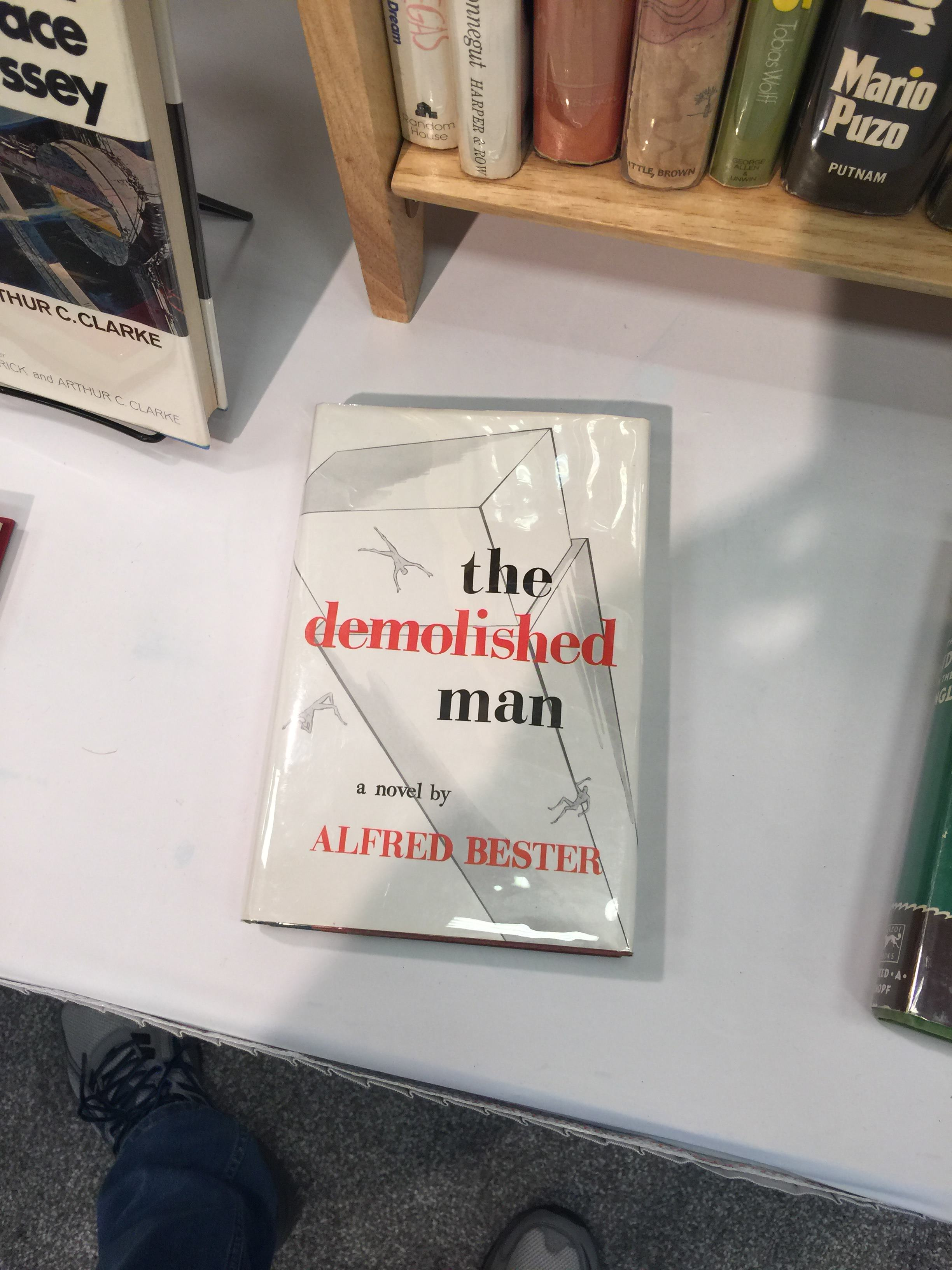 Alfred Bester's The Demolished Man first edition (Story originally appeared in Galaxy magazine)